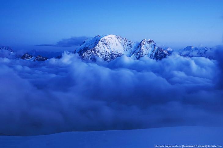Гора Эльбрус, фотопутешествие