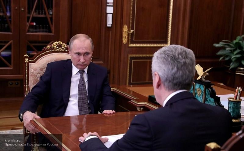 Собянин отчитался Путину о московских дорожных рекордах