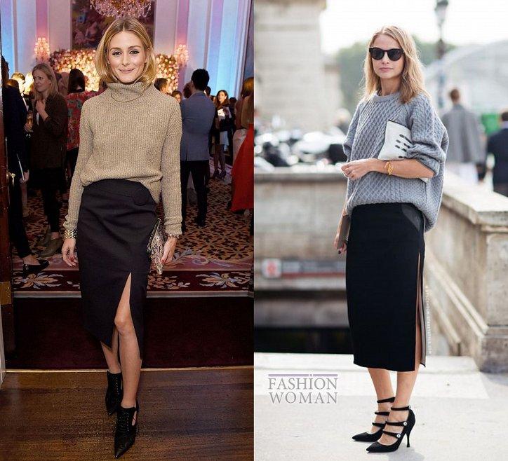 С чем носить юбку-карандаш и выглядеть модно фото №23
