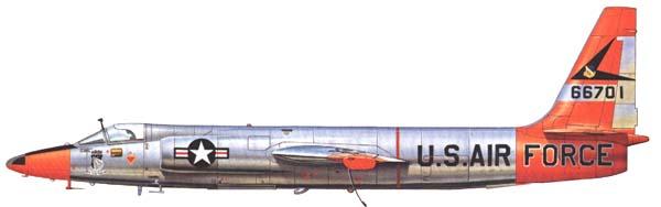 U-2A 6512 Test Group Edwards AFB
