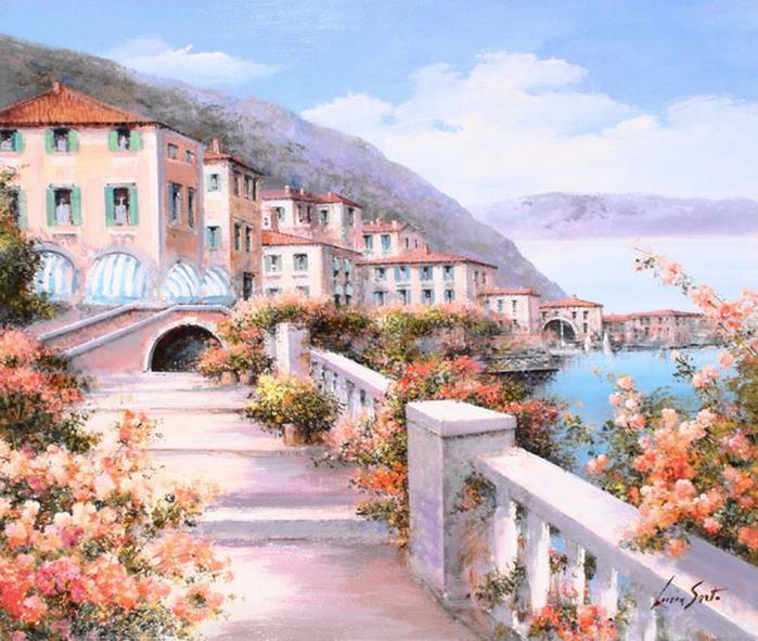 Цветущая Италия в творчестве Люсии Сарто (Lucia Sarto)
