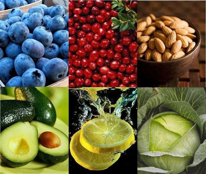 7 продуктов, отлично очищающих организм
