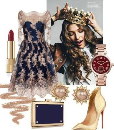 Новогодние сеты  как размышление о том, как можно нарядиться, если в Новогоднюю ночь хочется быть настоящей принцессой!