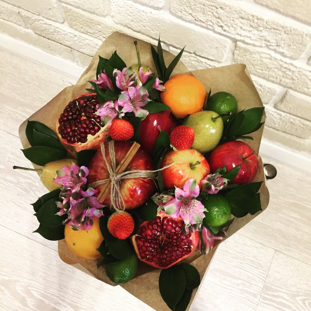 Букет из цветов и ягод купить, пермь интернет