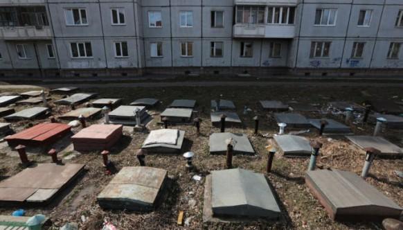 Красноярск и его объемные формы