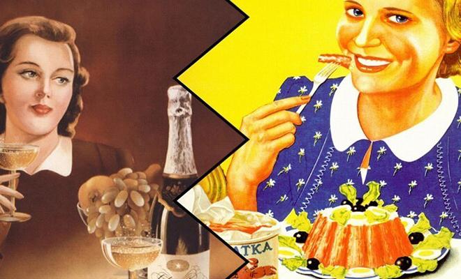 Реклама еды в СССР: несмотря на дефицит, продукты питания активно рекламировали