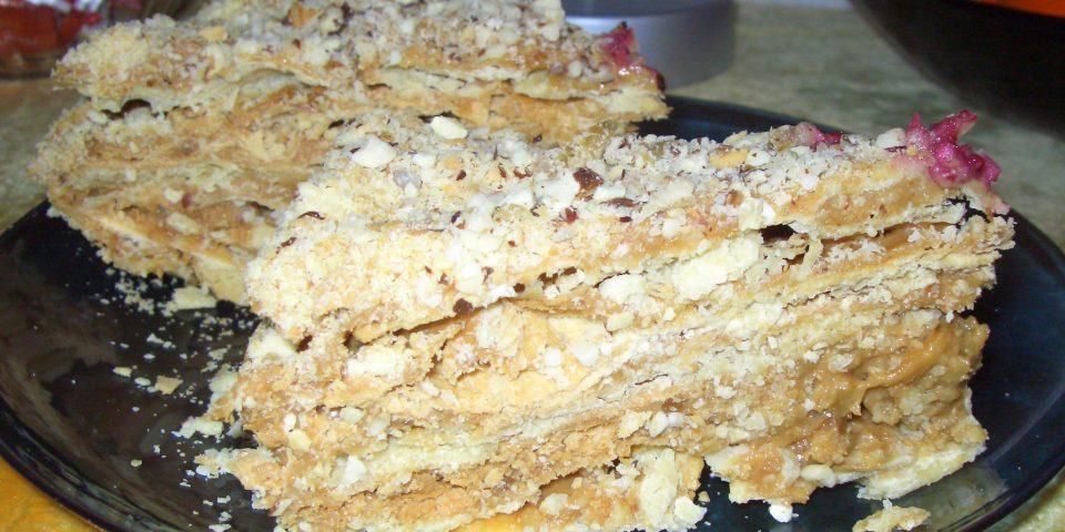 Торт на сгущенном молоке выпечка,десерты,кулинария,торты