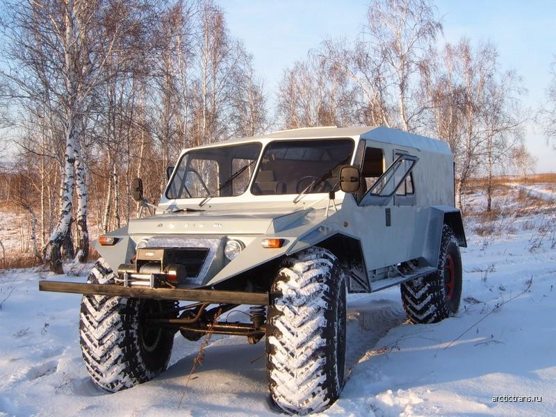 3. «Барс» Российские, авто, вездеходы