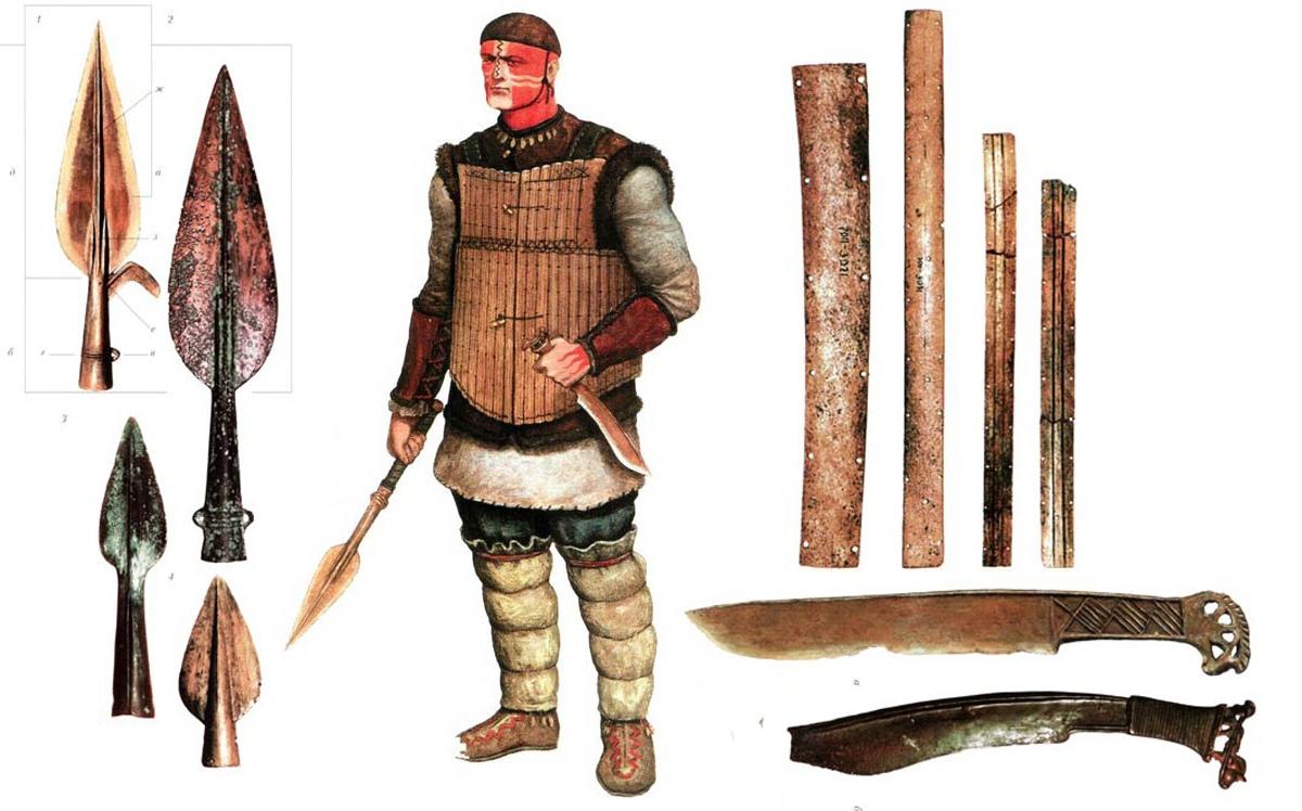 Холодное оружие древних ариев и их родственников
