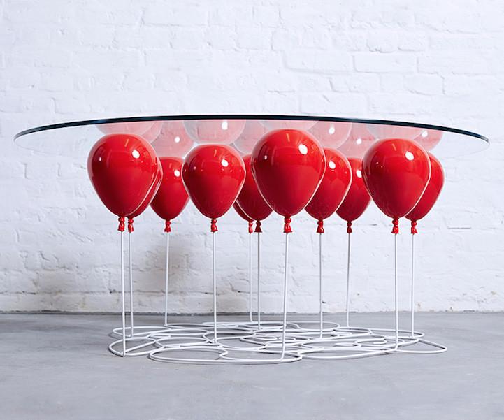 Кофейный стол на шариках — бытовая левитация от Кристофера Даффи гаджет, дизайн, креатив