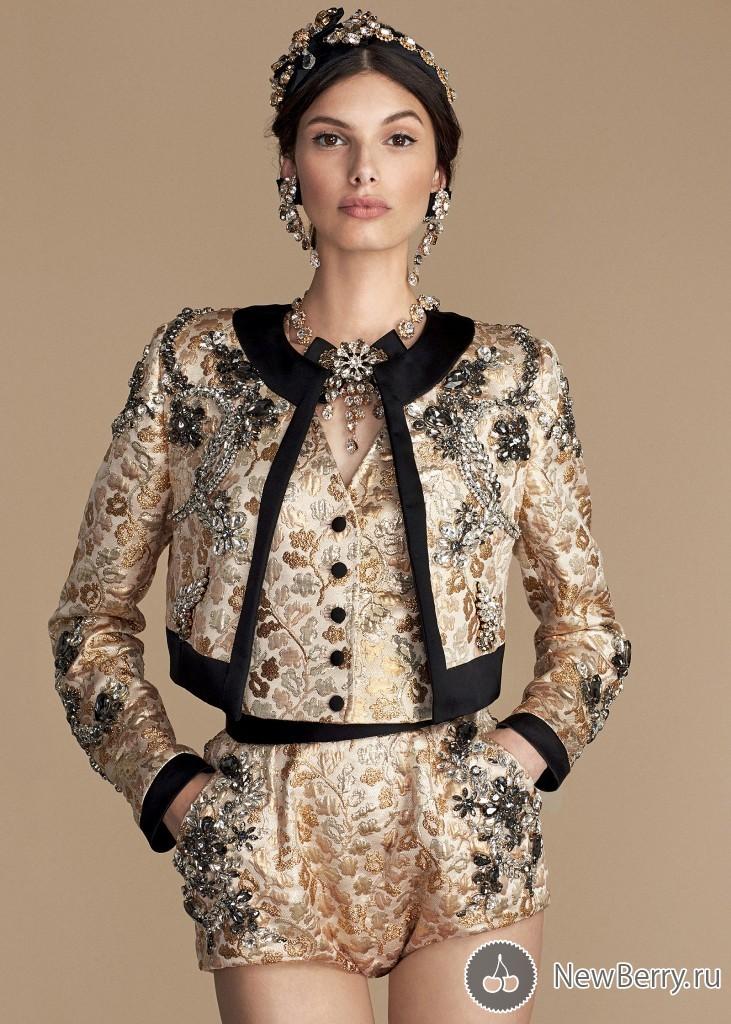 84162d636775 Женская одежда Dolce & Gabbana весна-лето 2016