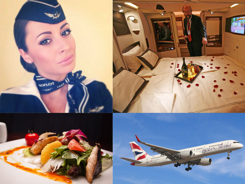 Перелеты первым классом: За что авиакомпании берут огромные деньги