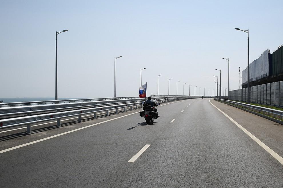 Открытие Крымского моста: первые фото