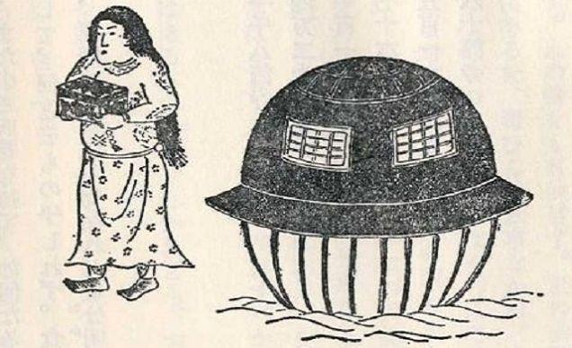 Старая японская история, до …