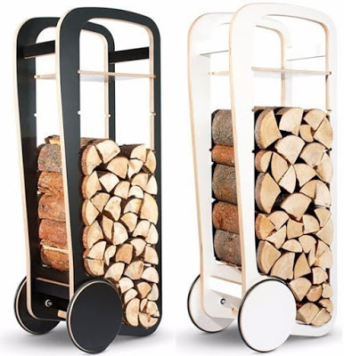 Удобное хранение дров