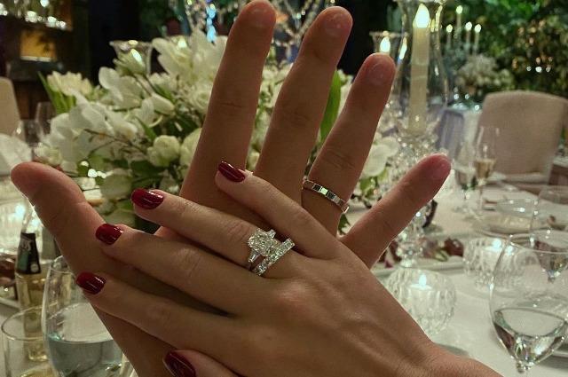 Кети Топурия вышла замуж за Льва Деньгова: первые фото со свадьбы Звездные пары