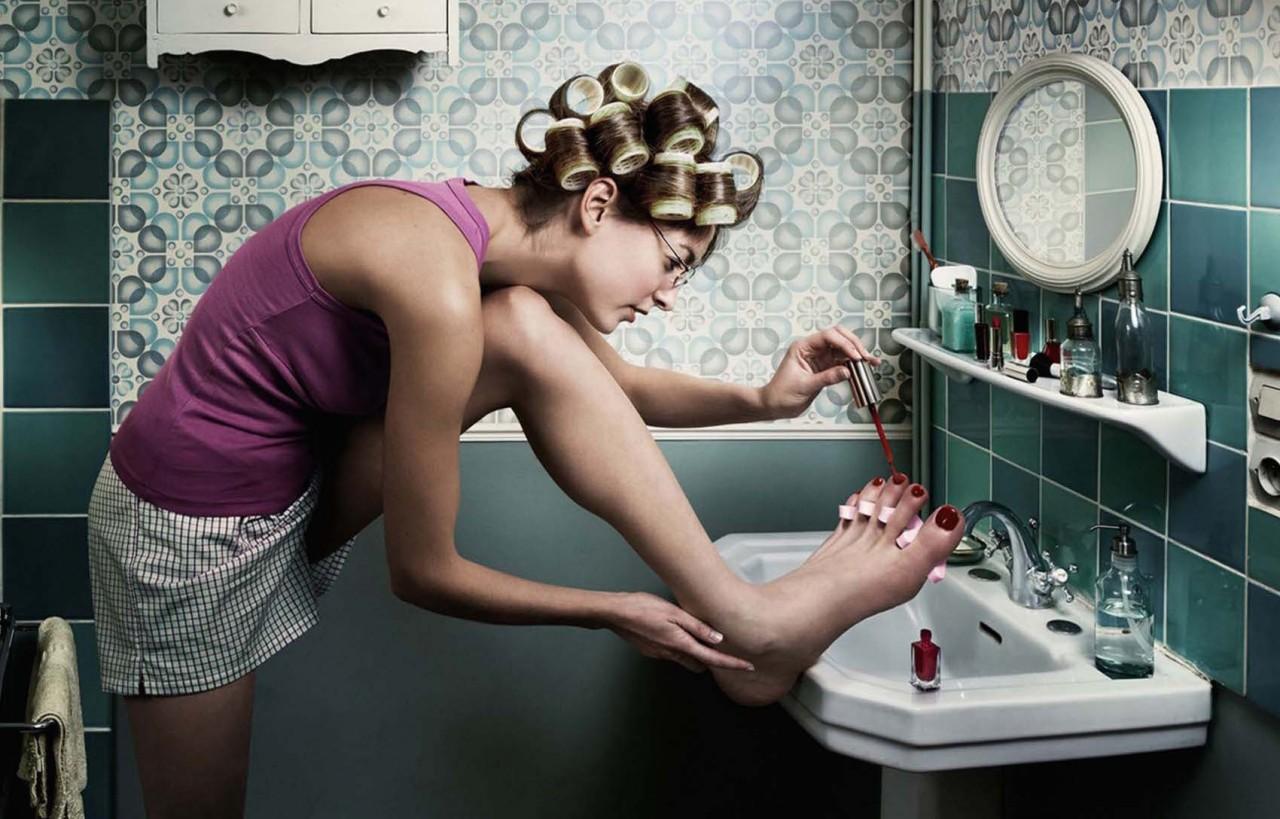 Смешная, прикольные картинки про женщин утром