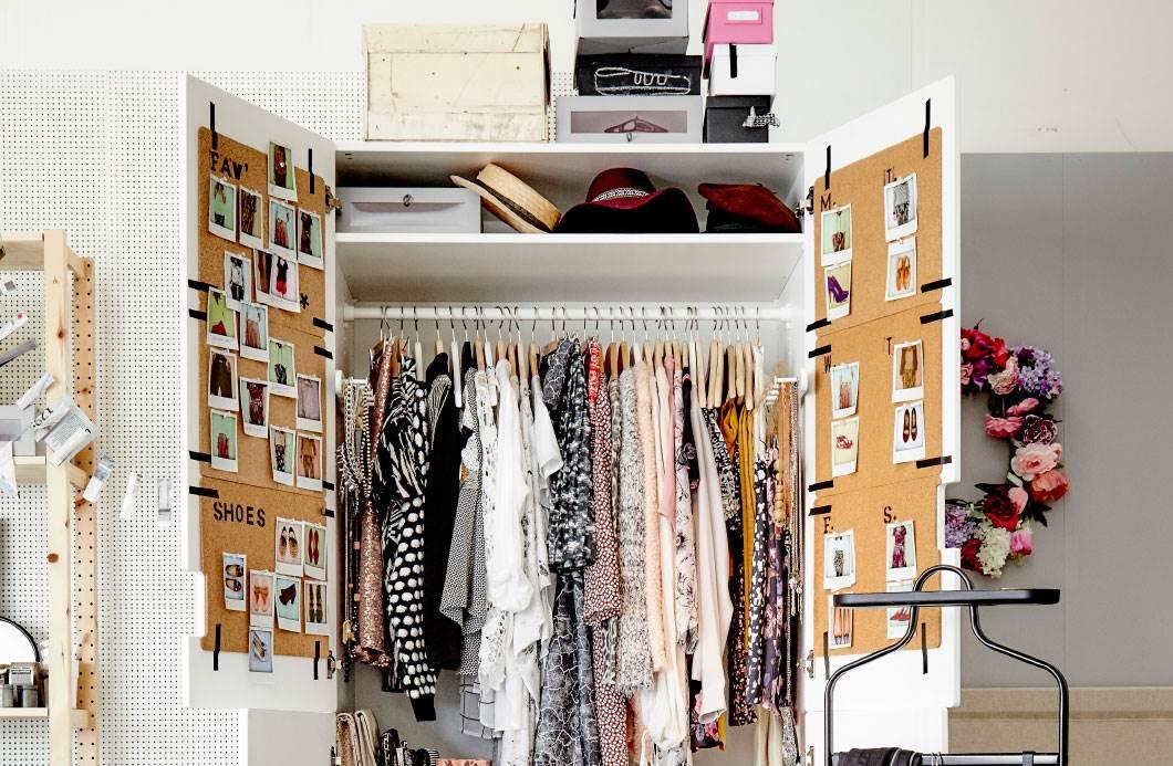 писал идеальный порядок в шкафу фото надежную