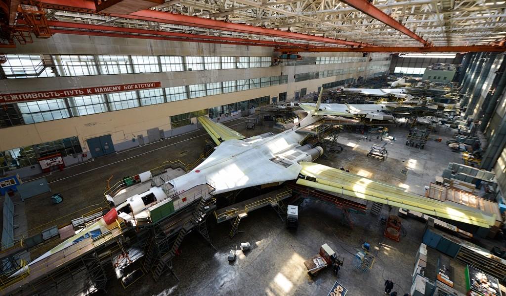 Россия планирует произвести от 30 до 50 бомбардировщиков Ту-160М2