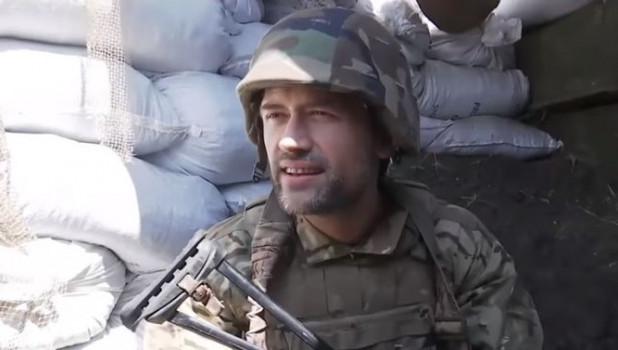 Воюющий в Донбассе актер Пашинин пригрозил СБУ убить себя