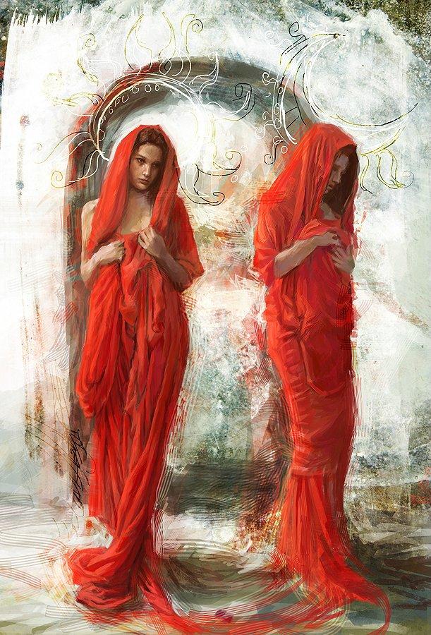Художница  Лаура Сава и её фантастически красивые работы