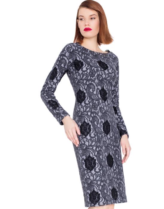 Must have нынешней осени: 15 стильных серых платьев, в которых можно идти хоть в офис, хоть на свидание