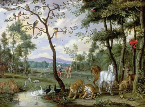 Эдемский Сад себе мы возвращаем