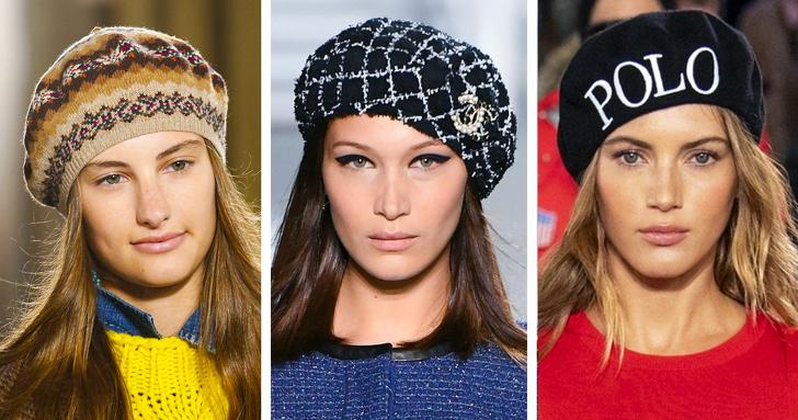 Модные головные уборы осени изимы— 2018/2019, которые позволят оставаться стильной влюбую погоду