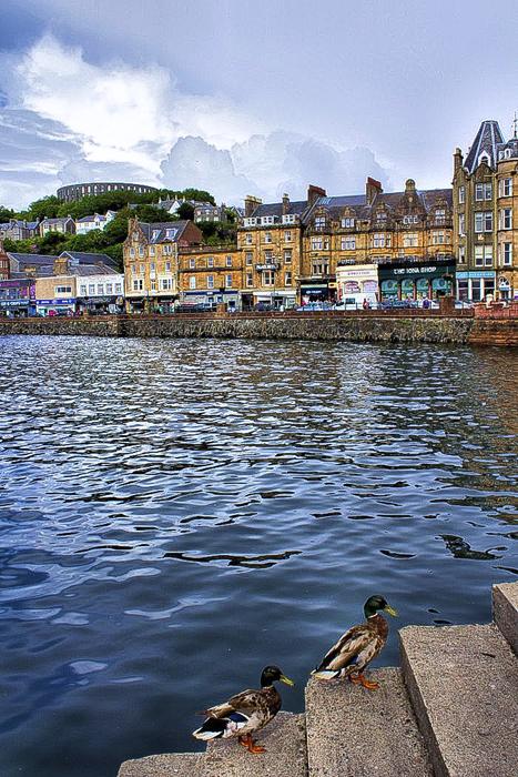 Уютные города Шотландии.