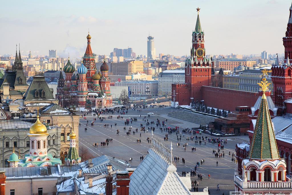 Как я приехал в Москву