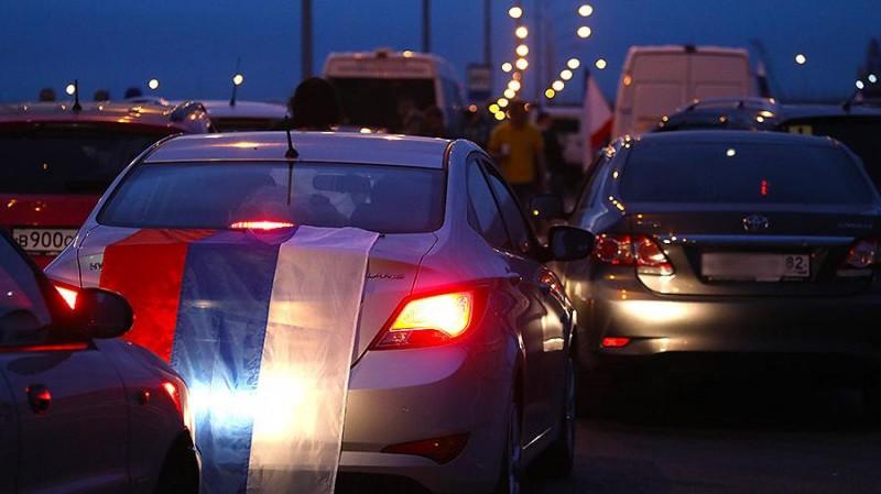 По Крымскому мосту открылось движение