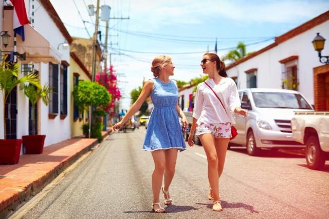 Путешествие с подругами полезно для здоровья