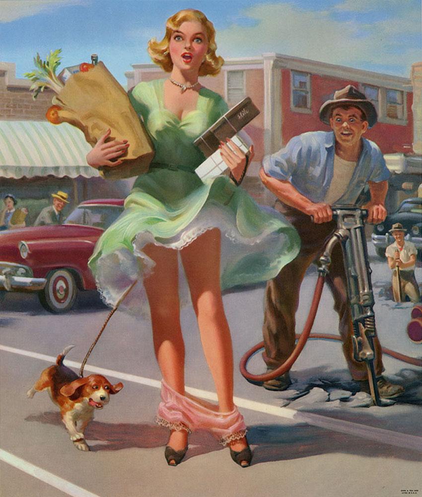 Приколы женщины и мужчины открытки