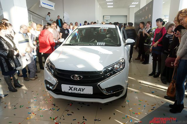 У «АвтоВАЗа» похитили Lada XRAY