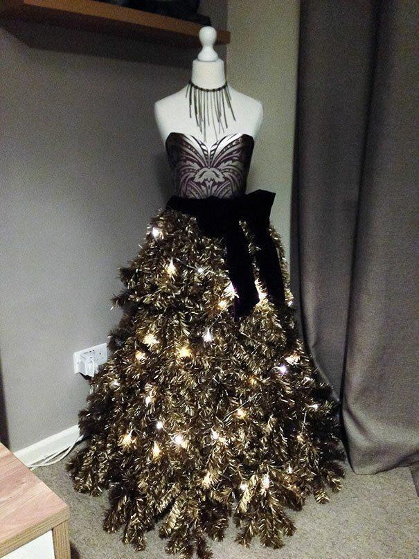 Елка-платье