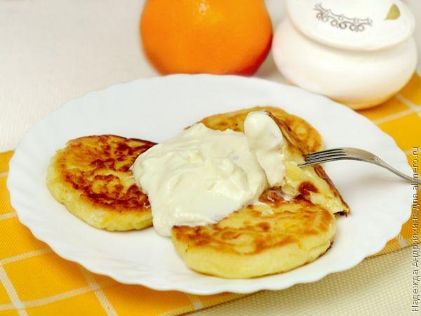 Это стоит попробовать: Апельсиновые сырники