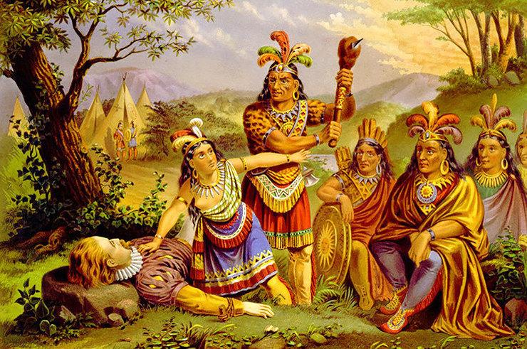 Настоящая история Покахонтас