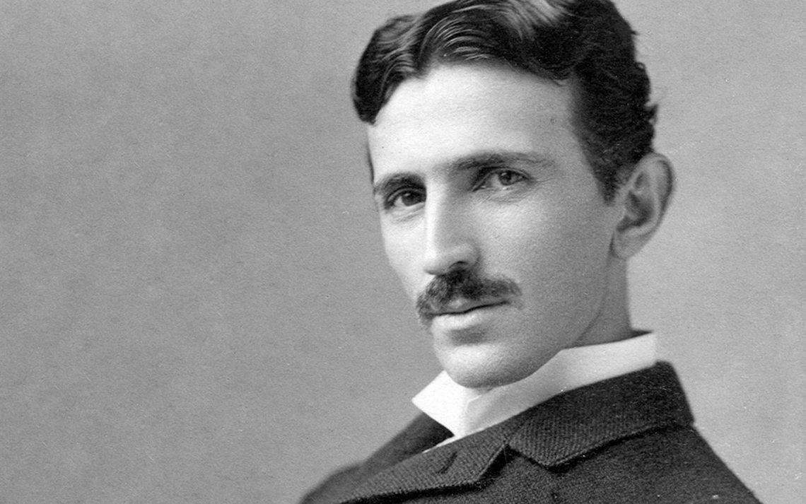 Никола Тесла (1856–1943годы)спал всего по2–3 часа вдень