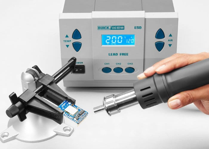 Quick 861DW Hot Air soldering rework station