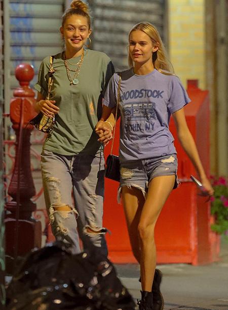 """Джиджи Хадид подогрела слухи о романе со звездой реалити-шоу """"Холостячка"""" Тайлером Кэмероном Звезды,Звездные пары"""