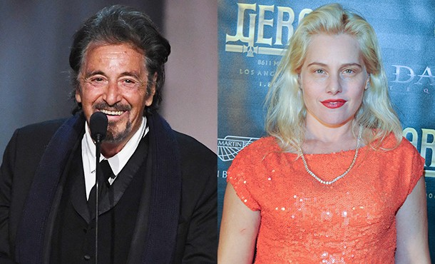 78-летний Аль Пачино встречается с израильской актрисой, которая ровно вдвое его моложе