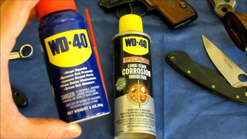 WD-40 называется так потому, что первые 39 попыток его создания были неудачными. интересное, факты