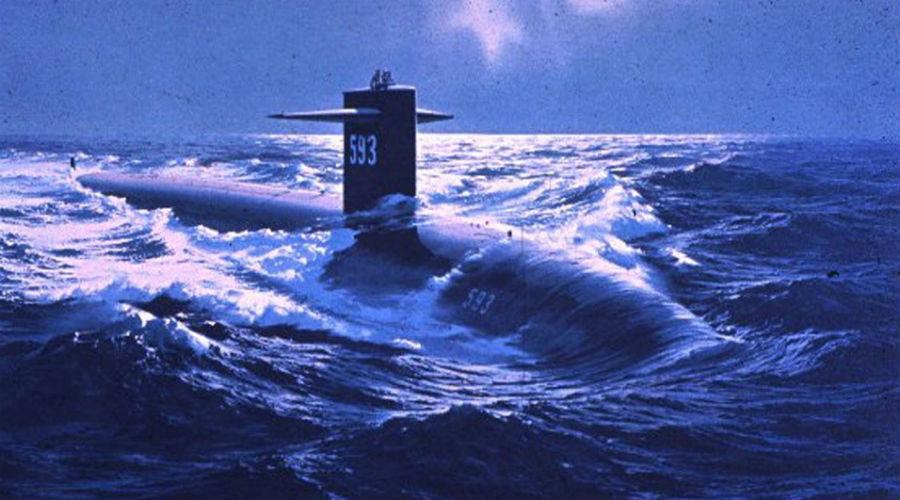 Секретное задание американской атомной субмарины, после которого она пропала