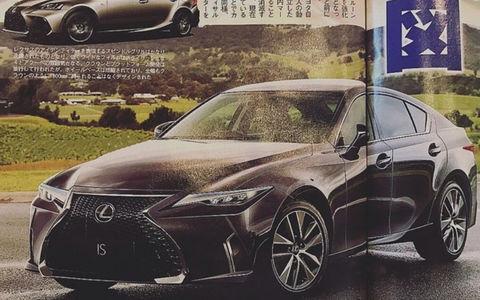Новый Lexus IS: первые изображения и информация