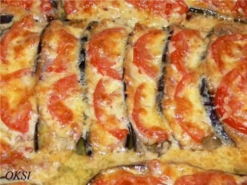 Фото к рецепту: Баклажаны под шубкой