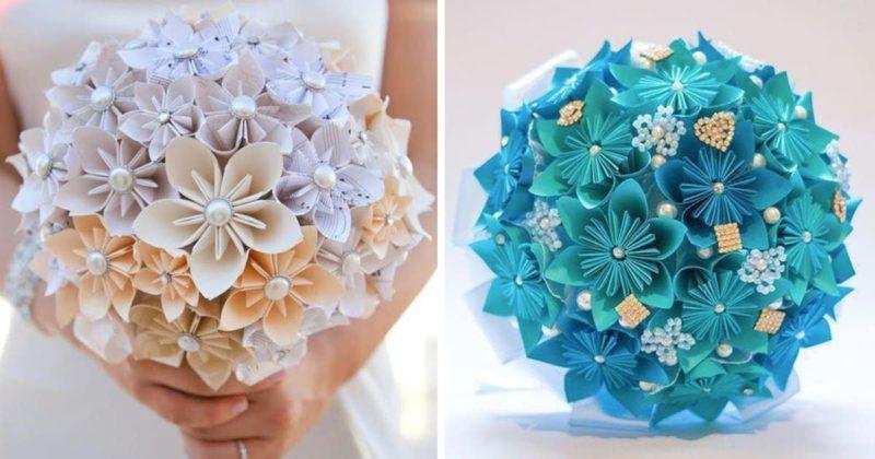 Букеты из бумажных цветов. О…