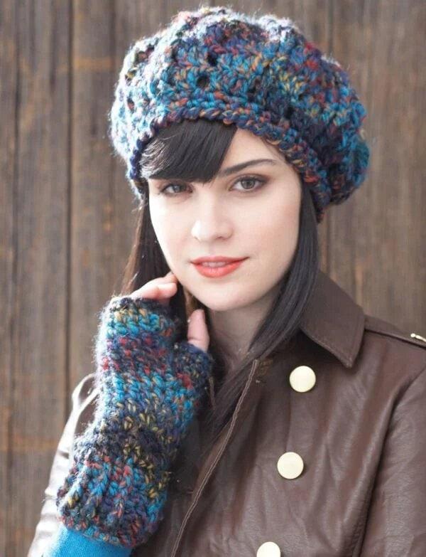 Как с комфортом пережить зиму: 14 отличных вязаных шапок гардероб,головные уборы,красота,мода,мода и красота,модные образы,модные сеты,модные советы,модные тенденции,одежда и аксессуары,стиль,стиль жизни,уличная мода