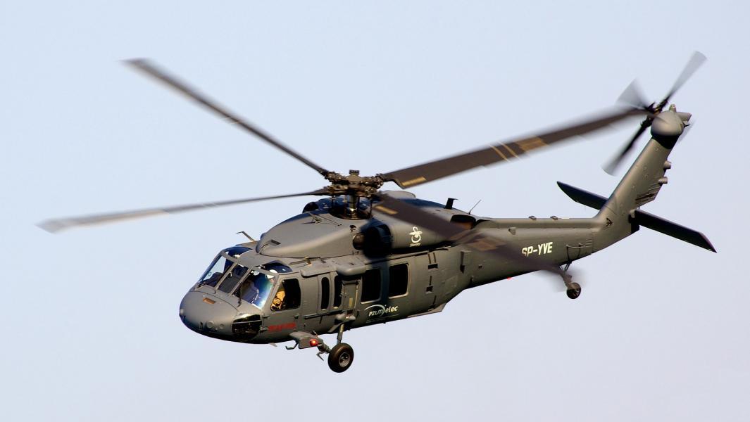«Чёрный ястреб» (англ. Black Hawk)— американский многоцелевой вертолёт