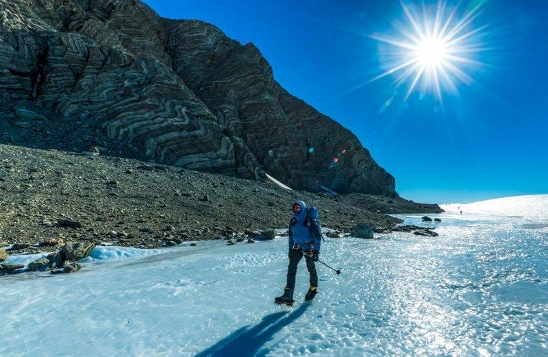 Антарктида- это не только снег, но еще и горы, земля и ледники антарктида, интересно, пик Винсона, путешествие, скалолазание, фотоотчет