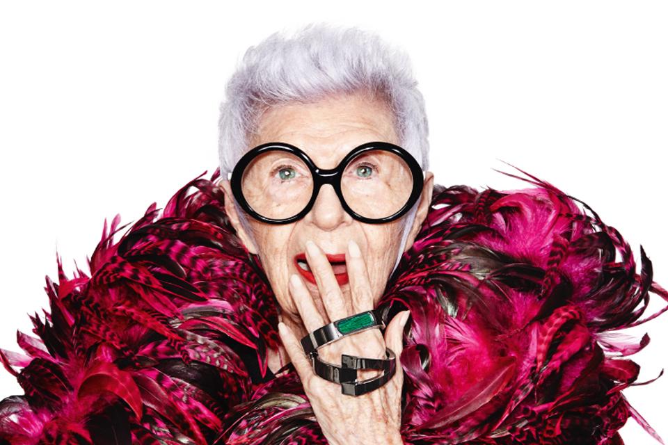 Как стать иконой стиля: правила жизни 94-летней Айрис Апфель